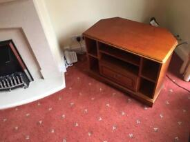 Cherrywood TV Corner Unit