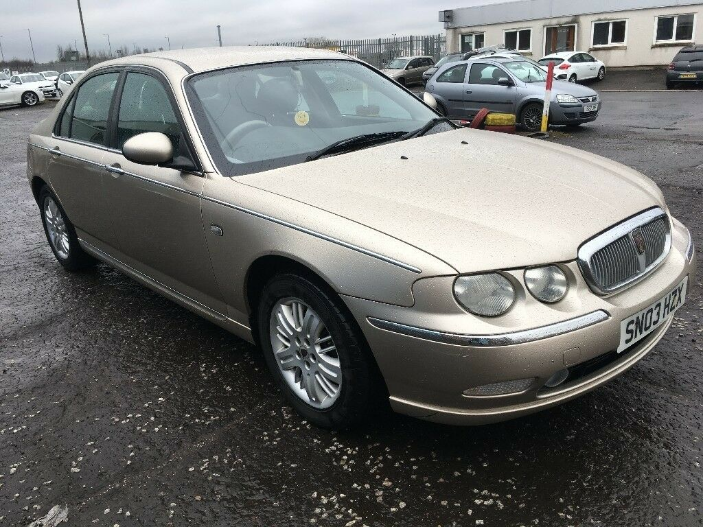 2003 Rover 75 1.8 , mot - March 2019 , 3 owners from new ,vectra