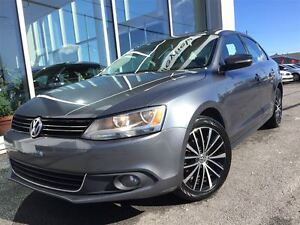 2013 Volkswagen Jetta 2.5L Highline CUIR TOIT OUVRANT MAG 17`