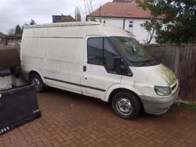 Ford Transit - has been parked 4 years + so does not start