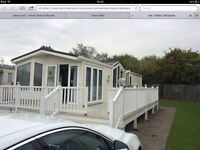 Luxury static caravan on Marton Mere holiday village willerby vision eco 2011