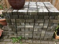 Approximately 500 dark grey monoblocks. Any reasonable offer accepted. £80 ONO