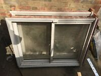 Two Double Glazed Sash Windows