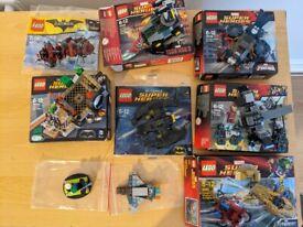 Lego Superheroes Marvel and DC Sets