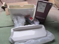 New Heritage PGRW01 Granley cistern & lid including internal fittings White.