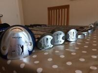 Golf clubs with bag £15