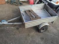 Small car trailer