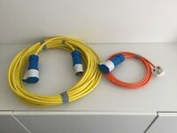 Electric hook up cable for caravan or motorhome heavy duty cable new unused 20mts long