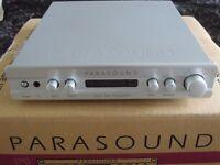 Parasound Zpre2 4 channel stereo pre-amplifier half width size