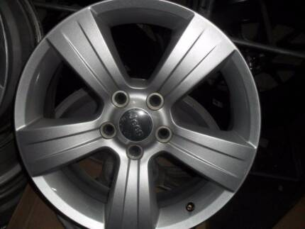SET OF 4 USED 17x6.5 JEEP PATRIOT OEM WHEELS IN GOOD CONDITION Bayswater North Maroondah Area Preview