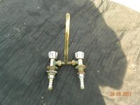 Hot and Cold Water Taps for Sink for Caravan/Motor Home/Boats