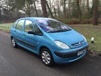 2001 Citreon Picasso 1,6 litre 1 owner
