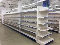 Shop shelving excellent condition store close
