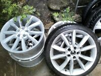 Vw X 2 sets alloys