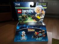 LEGO DIMENSIONS DOC BROWN FUN PACK