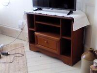 Solid wooden TV unit