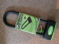 Motorcycle U Lock - anti theft padlock - Mammoth BNIB