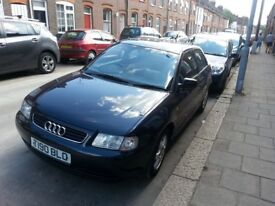 Audi A3, Sports, Petrol, 1.6litre 3 door, Blue, 142000miles, excellect condition