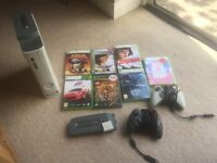 X-Box 360 plus 7 games and HD space