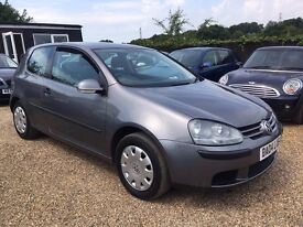 VOLKSWAGEN GOLF 1.4 S 3DR 2004 * IDEALFIRST CAR*CHEAP INSURANCE * HPI CLEAR * SERVICE HISTORY