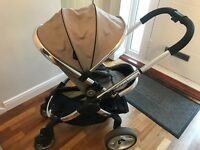 Icandy Peach 2 pram & bassinet