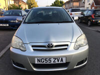 2005 TOYOTA COROLLA DIESEL ,air condition,NEW MOT DRIVE SUPERB/toyota avensis/vw golf/ford focus