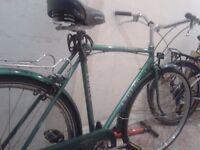 Vintage city bike Apollo