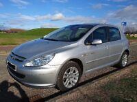 Peugeot 307 1.6 Petrol Quiksilver Edition SPARES OR REPAIR