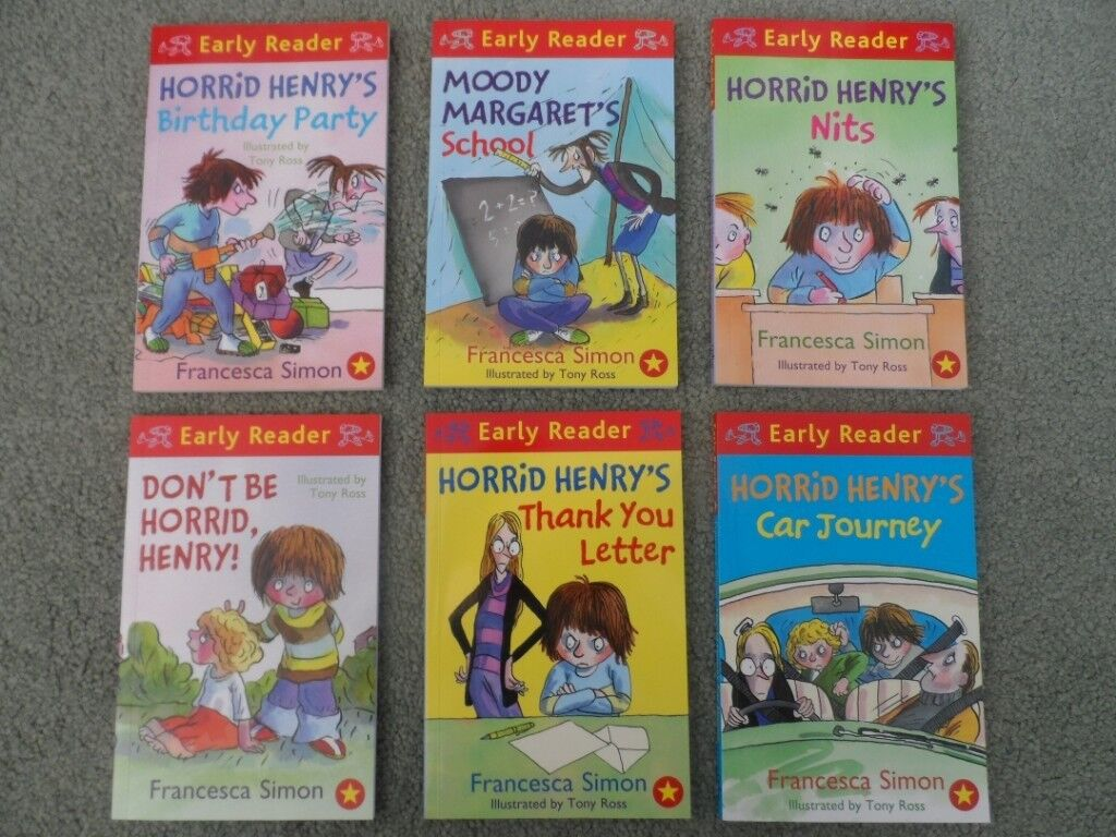 10 horrid henry early reader books in barry vale of glamorgan 10 horrid henry early reader books expocarfo Choice Image