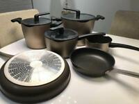 Ikea Trovardig pots and pans set used
