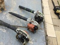 Sthil leaf blowers x3 parts or spares not working