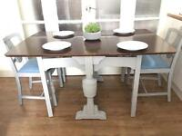 """VINTAGE """"lebus""""TABLE FREE DELIVERY LDN🇬🇧SHABBY CHIC"""