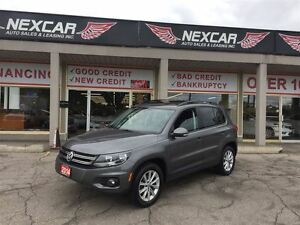 2014 Volkswagen Tiguan 2.0L TSI COMFORTLINE AWD LEATHER PANO/ROO