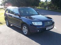 2006 06 SUBARU FORESTER 2.0 X AWD ESTATE MET BLUE