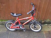"Urban Racers 12"" boys bike – for boys arranged 4/5 years old"