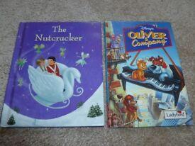 The Nutcracker and Oliver & Company books