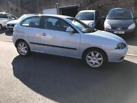 Seat Ibiza sport, 2005, 73000 miles, service history, long mot, £995