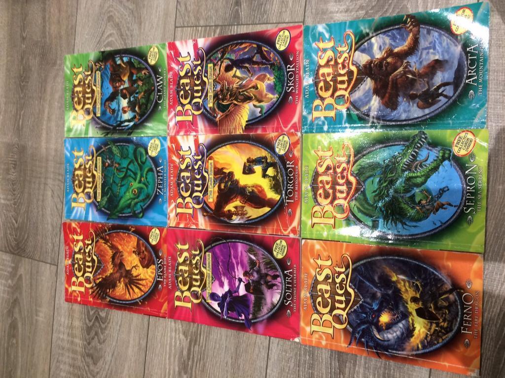 Beast quest books 50p each