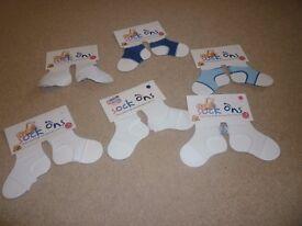 Baby boy sock-ons