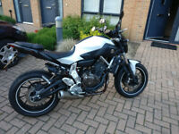 beautiful Yamaha MT 03 2014