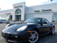 2012 Porsche Cayman 2DR COUPE 265HP Leather 18 Alloys Xenons Ama