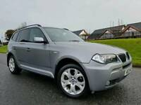 LCI FACELIFT 2007 BMW X3 2.0d M Sport 4x4! Full Leather! FSH! STUNNING EXAMPLE! Must Be Seen!