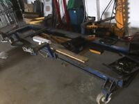 Car hydraulic Jig car-o-liner body alignment shop crash repair puller job