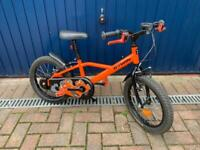 "Child's bike - Decathlon BTWIN Robot 500 16""wheel bike"