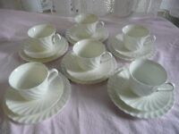 Vintage wedgwoodCandlelight Cups Saucers and Side Plates