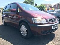 2004 VAUXHALL ZAFIRA 1.6 CLUB ** NEW CLUTCH + 1 PREVIOUS OWNER + PART SERVICE HISTORY