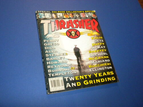 THRASHER magazine 2001 January SKATEBOARDING/SKATEBOARD
