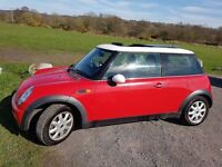 mini one low milage . service hisory to 45000 miles drives spot on