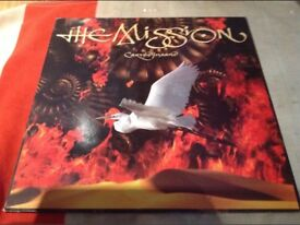 The Misson Carved in sand lp