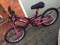 Girls Raleigh mountain bike for 6-8 years